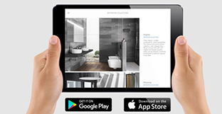 The entire Roca catalogue, available in a new app for tablets