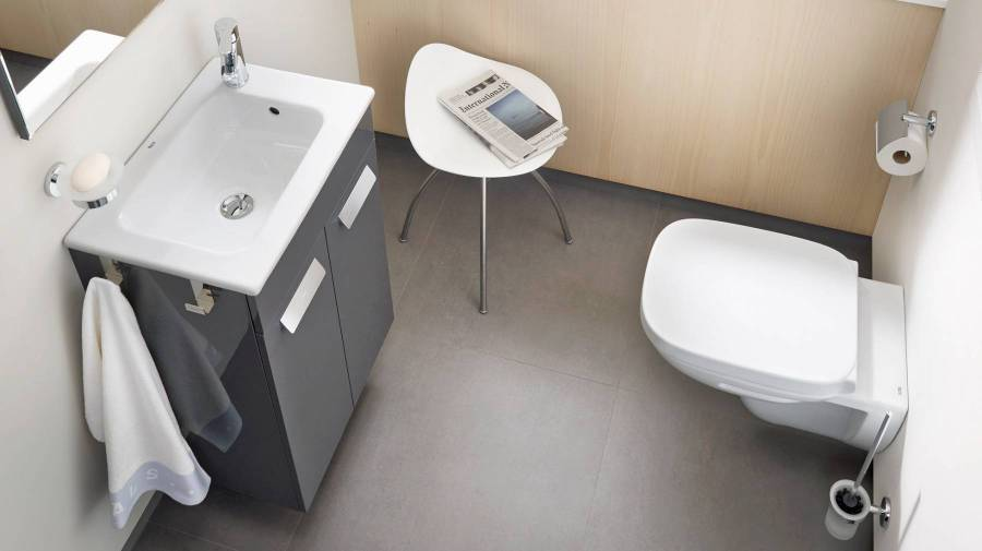 Debba compact vanity by Roca