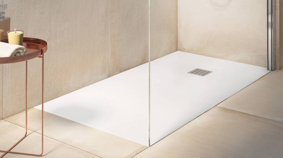Stonex® shower tray by Roca