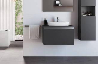 Bathroom with Roca products