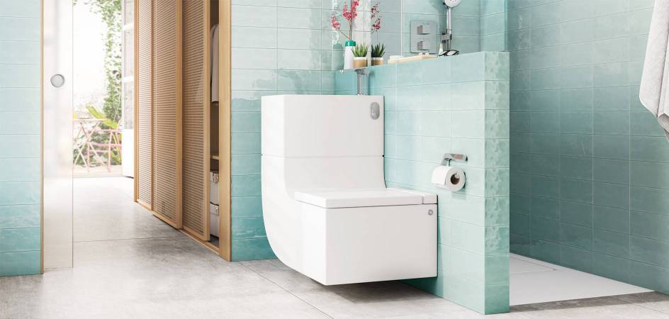 W+W, basin and WC in one single piece