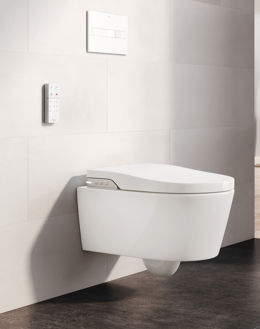 Meridian wall-hung toilet
