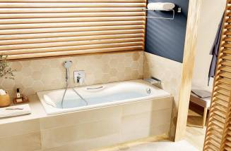 SMALL BATHS FOR LARGE FAMILIES