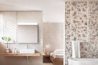 TILES THAT REPLICATE WALLPAPER
