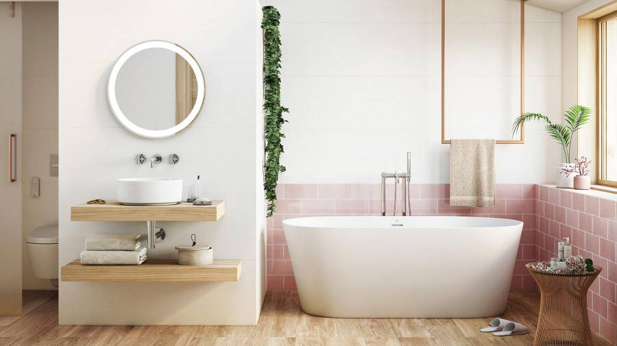 KITCHEN AND BATHROOM WHITE WALL TILES Silence