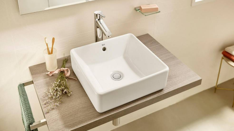 ALTER OVER COUNTERTOP BASIN COMBINED WITH SAVANA