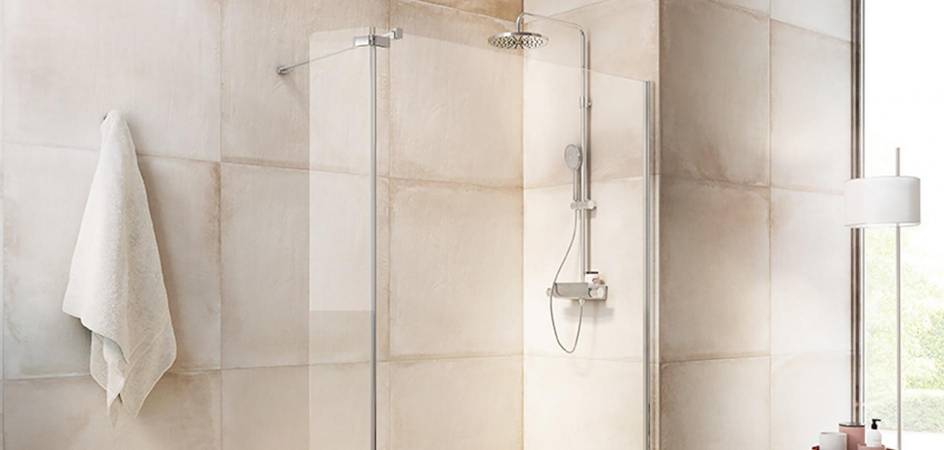 4 ENCLOSURE SOLUTIONS FOR BATHROOMS WITH SHOWER