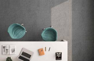 THE SOFT TOUCH OF FABRIC IN KITCHEN OR BATHROOM TILES