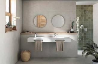 TRENDS IN BATHROOM OR KITCHEN TILES, ROCA