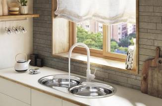 KITCHEN FAUCETS FROM ROCA: DESIGN, COLOR AND FUNCTIONALITY