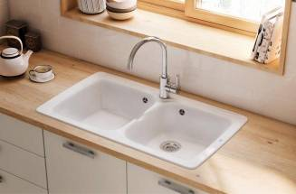 FIRECLAY KITCHEN SINKS ROCA
