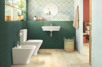 A BATHROOM IN FULL COLOR ROCA