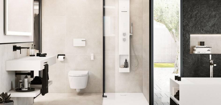 ROCA MODERN BATHROOMS FOR TECH AND DESIGN LOVERS