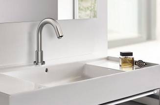 Faucet with presence sensor: top hygiene, also at home - Roca