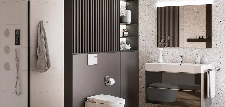 Roca Touchless solutions: faucets with presence sensor and other innovations in your bathroom