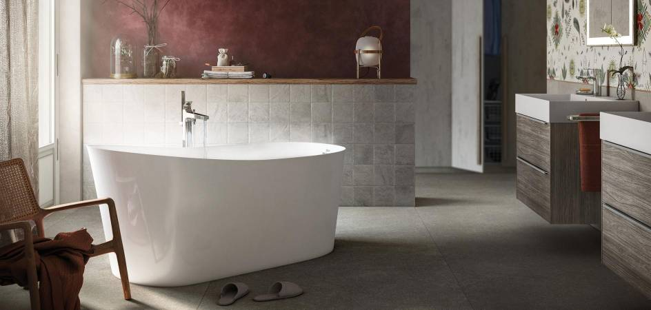 ROCA - MAUI: A FREESTANDING BATH BETWEEN THE PAST AND THE FUTURE