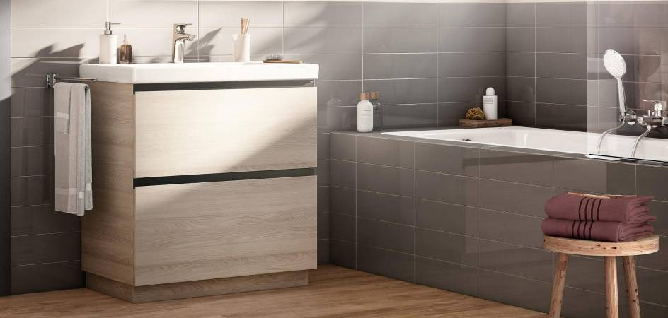 Tradition and innovation in wooden furniture units - Roca